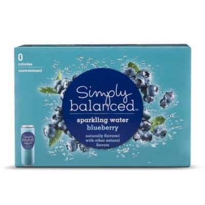 Simply Balanced Sparkling Blueberry 8pk 12oz