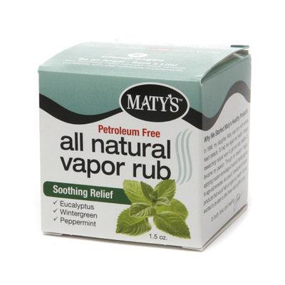 Maty's All Natural Vapor Rub