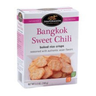 Tabetai Inc Rice Crisps, Bngkok Sw Chi, 3.50-Ounce (Pack of 6)