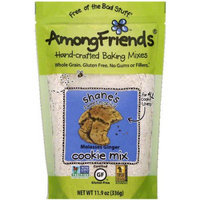 Among Friends Shane's Sweet-n-Spicy Molasses Ginger Cookie Mix, 11.9 oz, (Pack of 6)