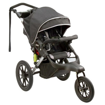 Adventure Jogging Stroller - Jet Black by Jeep