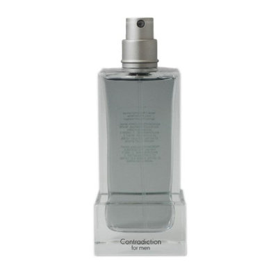 Contradiction for Men 3.4 oz spray TESTER by Calvin Klein 8141