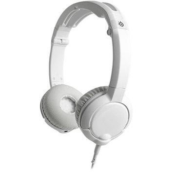SteelSeries Flux Headset, White