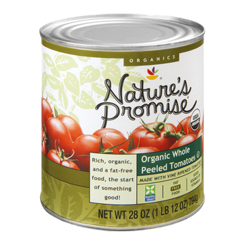 Nature's Promise Organics Tomatoes Whole Peeled Organic