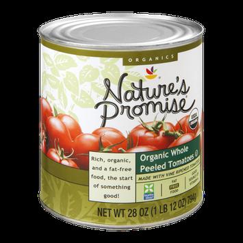 Nature's Promise Organics Tomatoes Whole Peeled Organic