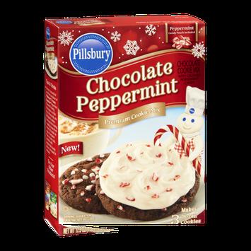 Pillsbury Chocolate Peppermint Premium Cookie Mix