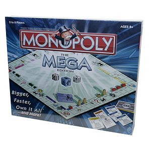 Monopoly The Mega Edition Ages 8+