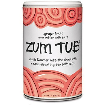Indigo Wild Zum Tub Bath Salts, Grapefruit, 12 Ounce