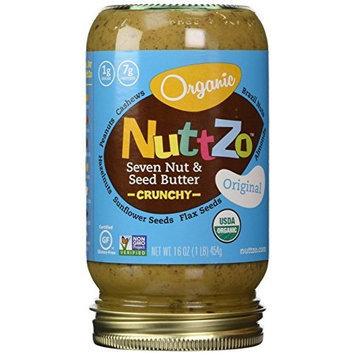 Nuttzo Omega-3 Multi-Nut Butter, 16-Ounce