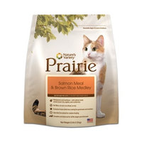 Prairie Salmon Meal & Brown Rice Medley Dry Cat Food by Nature's Variety, 6-Pound Bag