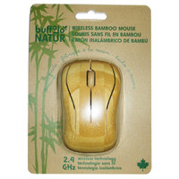 Buffalo Industries Buffalo Original Inc 1000 Bamboo Wireless Computer Mouse