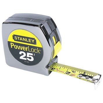 Stanley PowerLock 25 ft. Tape Measure 33-425D