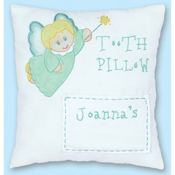 Jack Dempsey Stamped Tooth Fairy Pillow Cover 8