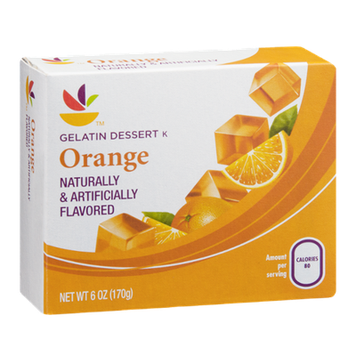 Ahold Gelatin Dessert Orange