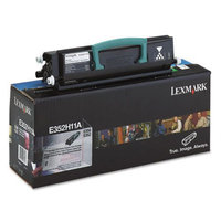 Lexmark E352H11A Toner Cartridge, High-Yield, Black