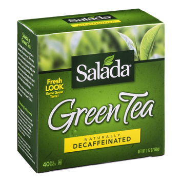 Salada Green Tea Bags Decaffeinated - 40 CT