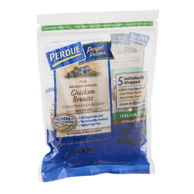 Perdue Perfect Portions Chicken Breasts Italian Style - 5 CT