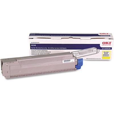 OKI Data Oki Data Americas, Inc Toner Cartridge, 8000 Page Yield, Yellow