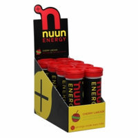 Nuun Energy Cherry Limeade Hydration Drink Tabs - 8 Pack - root, 8 tubes