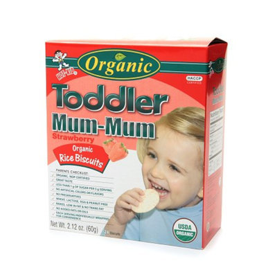 Toddler Mum-Mum Organic Biscuits