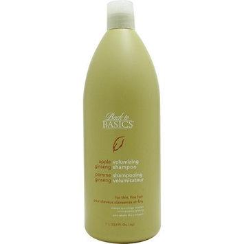 Back To Basics Apple Ginseng Shampoo For Fine Hair, 33.8-Ounce
