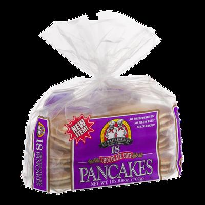 De Wafelbakkers Chocolate Chip Pancakes - 18 CT