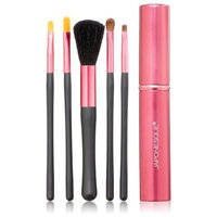 JAPONESQUE Touch Up Tube Brush Set, Pink