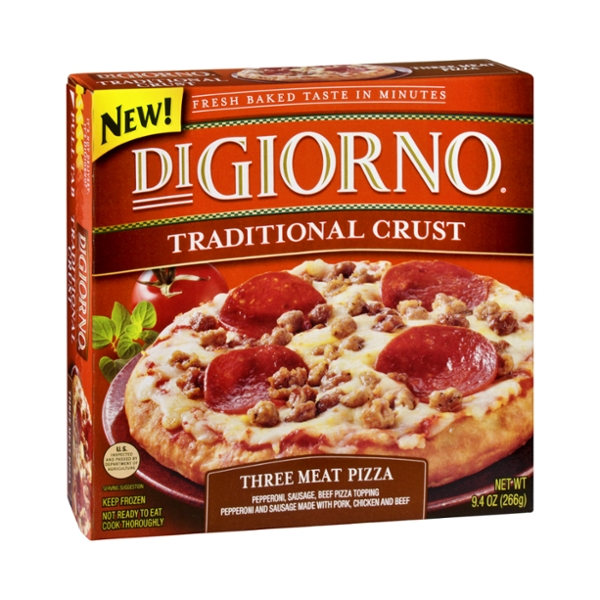 DiGiorno Pizza Three Meat Traditional Crust
