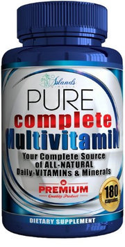 Islands Miracle Daily Multivitamin For Men & Women + Antioxidant The Best Complete Multivitam.