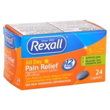 Rexall All Day Pain Relief Caplets - 24 ct