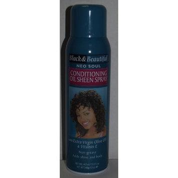 Black & Beautiful Neo Soul Holding Hair Spray 15.8 Fl Oz with Vitamin E & Extra Virgin Olive Oil