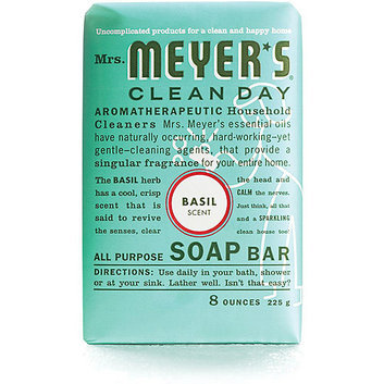 Mrs. Meyer's Clean Day Basil All-Purpose Bar Soap