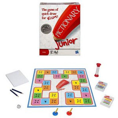 Pictionary Jr Game Ages 7-12, 1 ea