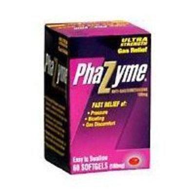 Phazyme Ultra Strength, 180mg, 60 Soft Gels