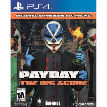 505 Games Payday 2: The Big Score Playstation 4 [PS4]