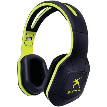 Soul By Ludacris Soul by Ludicris Transform Lightning Green Headphones with iPhone Mic & Remote