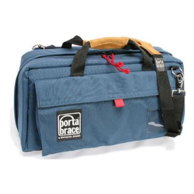 Portabrace Large Compact HD / Mini-DV Camera Case - Blue
