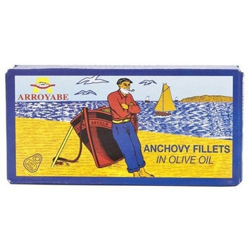 Arroyabe Anchovies in Olive Oil - 1 x 1 oz