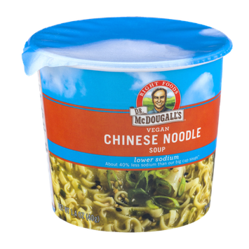 Dr. McDougall's Right Foods Lower Sodium Vegan Soup Chinese Noodle