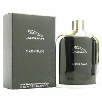 Jaguar Classic Black Eau de Toilette Spray, 3.4 fl oz