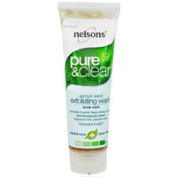 Nelson Pure and Clear Face Wash Exfoliating Wash Apricot Seed Acne Care 125 Milliliters