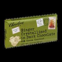 Chocolove Ginger Crystallized in Dark Chocolate