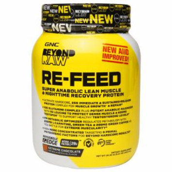 Beyond Raw GNC Beyond RAW RE-FEED - Extreme Chocolate