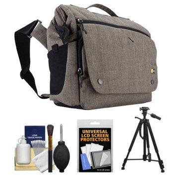 Case Logic Reflexion Digital SLR Camera & Tablet Medium Messenger Bag (Morel) with Tripod + Accessory Kit