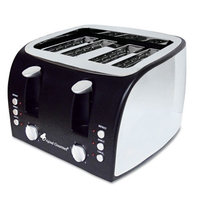 Original Gourmet Food Co. Coffee Pro 4-Slice Multi-Function Toaster with Adjustable Slot Width