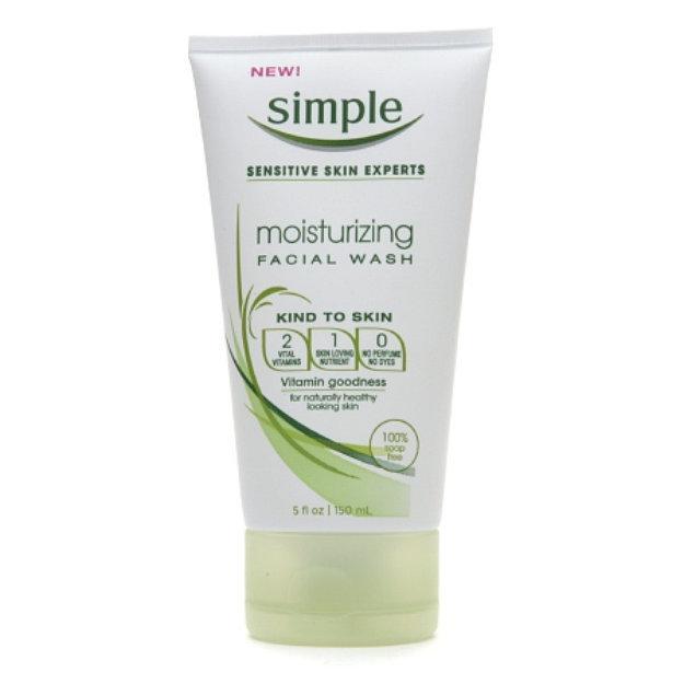 moisturizing facial cleanser