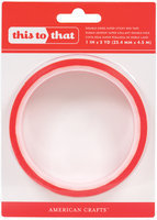 American Crafts Super Sticky Red Tape (1-Inch Wide)
