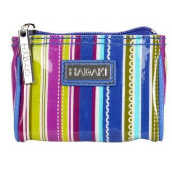 Hadaki Coated Zippered Top Mini Scoop Bag