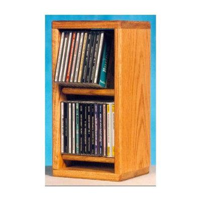 Wood Shed Dowel CD Storage Rack (Unfinished)