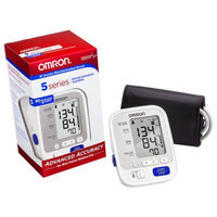 Omron 5 Series Upper Arm Blood Pressure Monitor, Model BP742N, Cuff that fits Standard and Large Arms, 1 ea